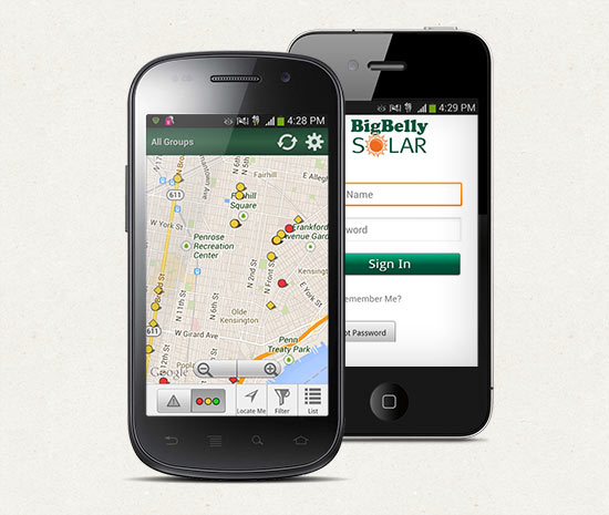 Bigbelly Solar mobile app